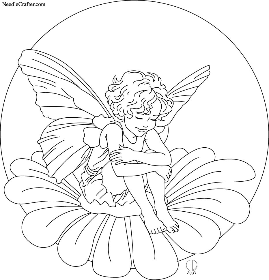 Flower Fairies Coloring Pages From Coloring Pages And